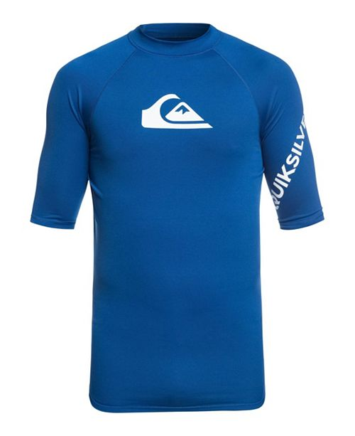Quiksilver Men's All Time Logo Graphic Swimsuit