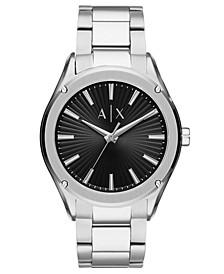Men's Fitz Stainless Steel Bracelet Watch 44mm