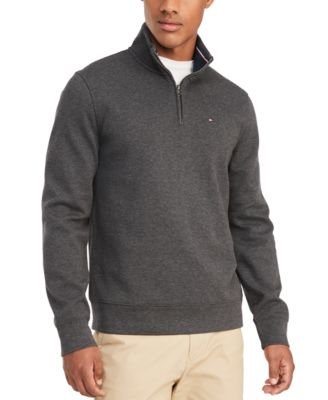 Men\u0027s French Rib Quarter,Zip Pullover, Created for Macy\u0027s