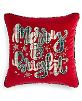 Incredible Christmas Pillows Holiday Throw Pillows Macys Customarchery Wood Chair Design Ideas Customarcherynet