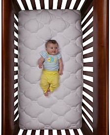 eLuxury Water resistant Toddler and Crib Mattress Pad