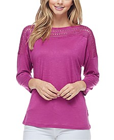 Women's 3/4 Sleeve Top