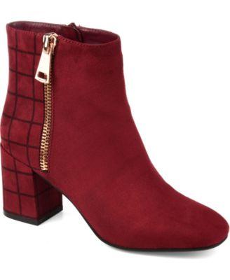 Red Booties - Macy's