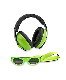 Banz Baby Boys and Girls Earmuff Sunglasses Combos
