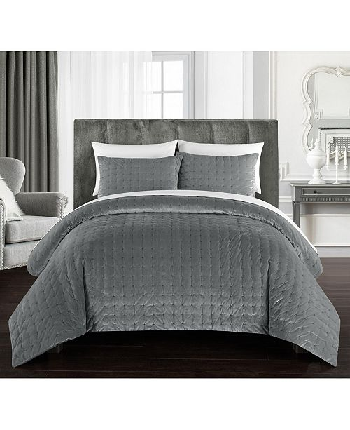 Chic Home Chyna 7-Pc. Queen Bed In a Bag Comforter Set