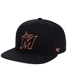 '47 Brand Miami Marlins Townhouse Snapback Cap