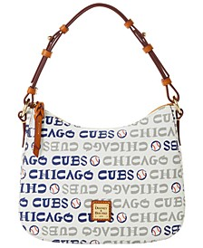 Chicago Cubs Small Kiley Hobo Bag