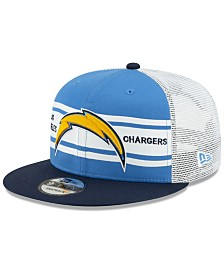 New Era Los Angeles Chargers Classic 77 Stripe Mesh 9FIFTY Cap