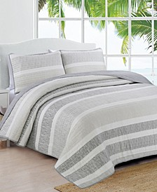 Estate Delray 3 Piece Quilt Set Full/Queen