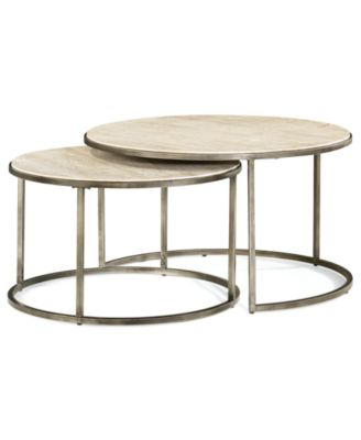 stylo rectangle coffee table, created for macy's - furniture - macy's