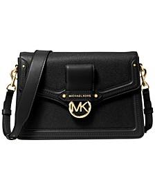 Jessie Flap Leather Shoulder Bag
