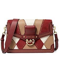 Jessie Large Flap Leather Shoulder Bag