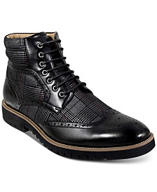Stacy Adams Barker Wingtip-Toe Boots