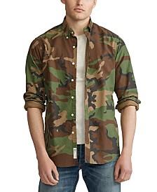 Polo Ralph Lauren Men's Classic Fit Camo Shirt