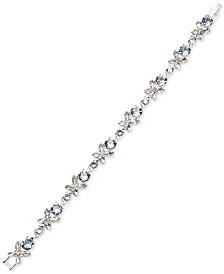 Givenchy Crystal Flower Flex Bracelet