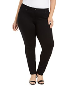 Style & Co Slim Ponte Pants, Created for Macy's