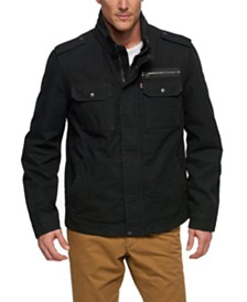 Levi's® Men's Cotton Zip-Front Jacket