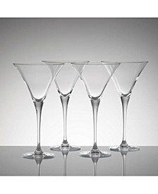 CLOSEOUT! Stemware, Tuscany Classics Martini Glasses, Set of 4