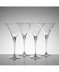 CLOSEOUT! Lenox Stemware, Tuscany Classics Martini Glasses, Set of 4