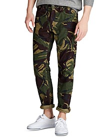 Men's Camo Stretch Cord Five-Pocket Pants