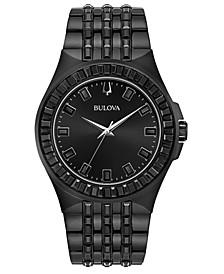 Men's Phantom Black Stainless Steel Bracelet Watch 42mm