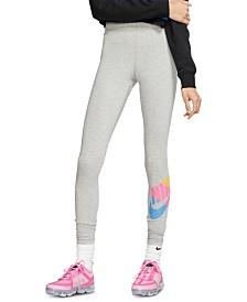 Nike Sportswear Printed-Logo Leggings