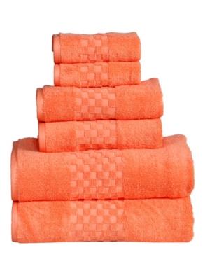 6 Piece Towel Set Bedding