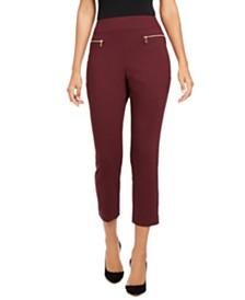 I.N.C. Zippered Skinny Pants, Created for Macy's