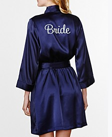 Embroidered 'Bride' Robe, Online Only