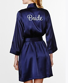 Wedding Prep Gals Embroidered 'Bride' Robe, Online Only