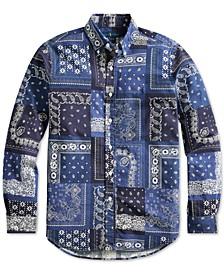 Men's Classic Fit Bandanna Shirt