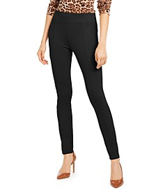 INC Wide-Waistband Skinny Pants, Created for Macy's