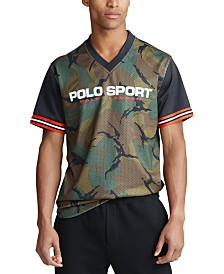 Polo Sport  Ralph Lauren Men's Performance Mesh V-Neck Shirt