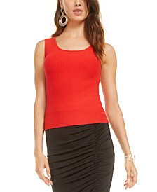 Scoop-Neck Sweater Tank Top, Created for Macy's