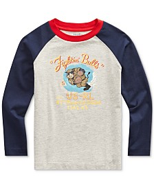 Polo Ralph Lauren Toddler Boys Basic Jersey Baseball T-Shirt