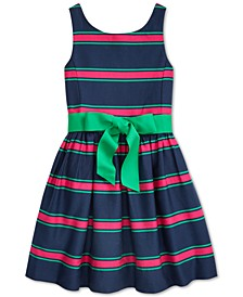 Little Girls Cotton Cricket Dress