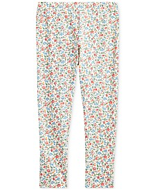 Polo Ralph Lauren Little Girls Stretch Floral Leggings