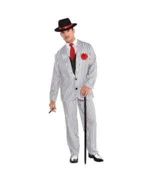 Big Gangster Adult Men's Costume