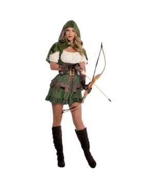 Robin Hoodie Adult Women's Costume