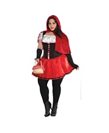 Amscan Red Riding Hood Adult Women's Costume - Plus Size