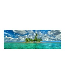 "- Island Getaway Canvas Art, 12"" x 36"""