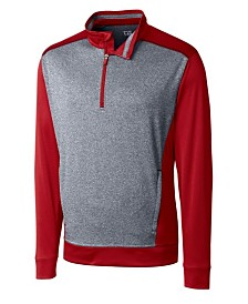 Cutter and Buck Men's Big and Tall Replay Half Zip Sweatshirt