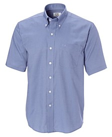 Men's Big & Tall Short Sleeves Epic Easy Care Nailshead Shirt