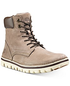 Women's Brookton Lace-Up Leather Boots, Created for Macy's
