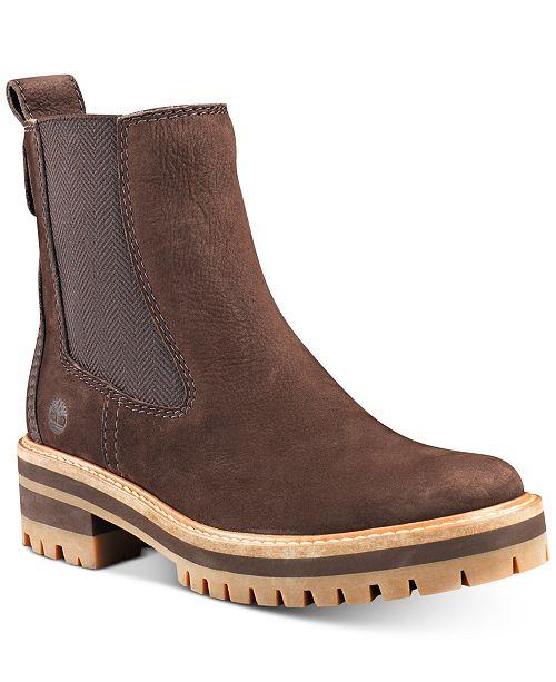 TIMBERLAND Courmayeur Boots Damen taupe nubuck im Online