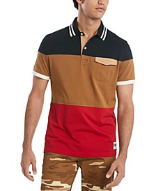 Men's Reese Colorblock Polo Shirt, Created for Macy's
