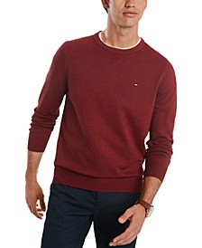 Men's Signature Solid Crew Neck Sweater