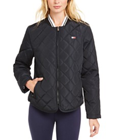 Tommy Hilfiger Sport Quilted Zip Jacket