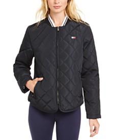 Tommy Hilfiger Sport Quilted Zip Jacket