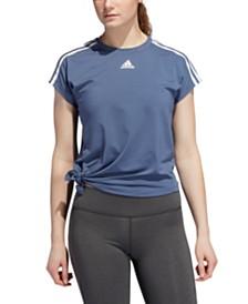 adidas ClimaLite® Side-Tie Training T-Shirt